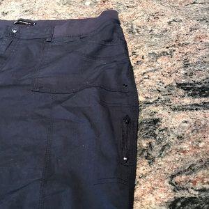 Lee Pants - Lee relaxed fit navy  20W Capri cargo pants
